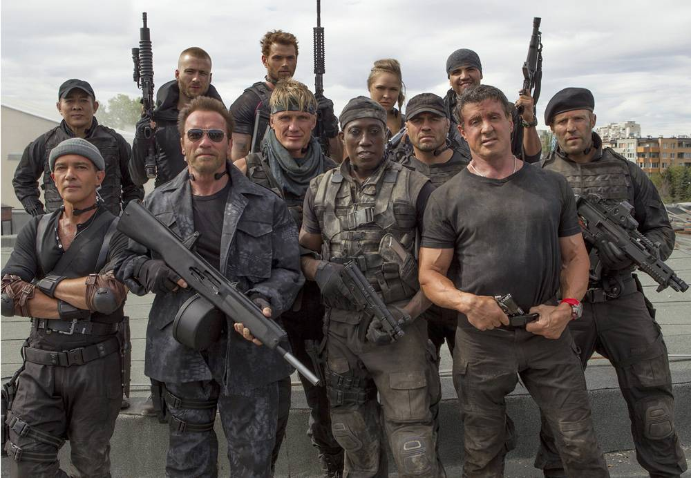 Getting to Know Actors Played in Expendables 3
