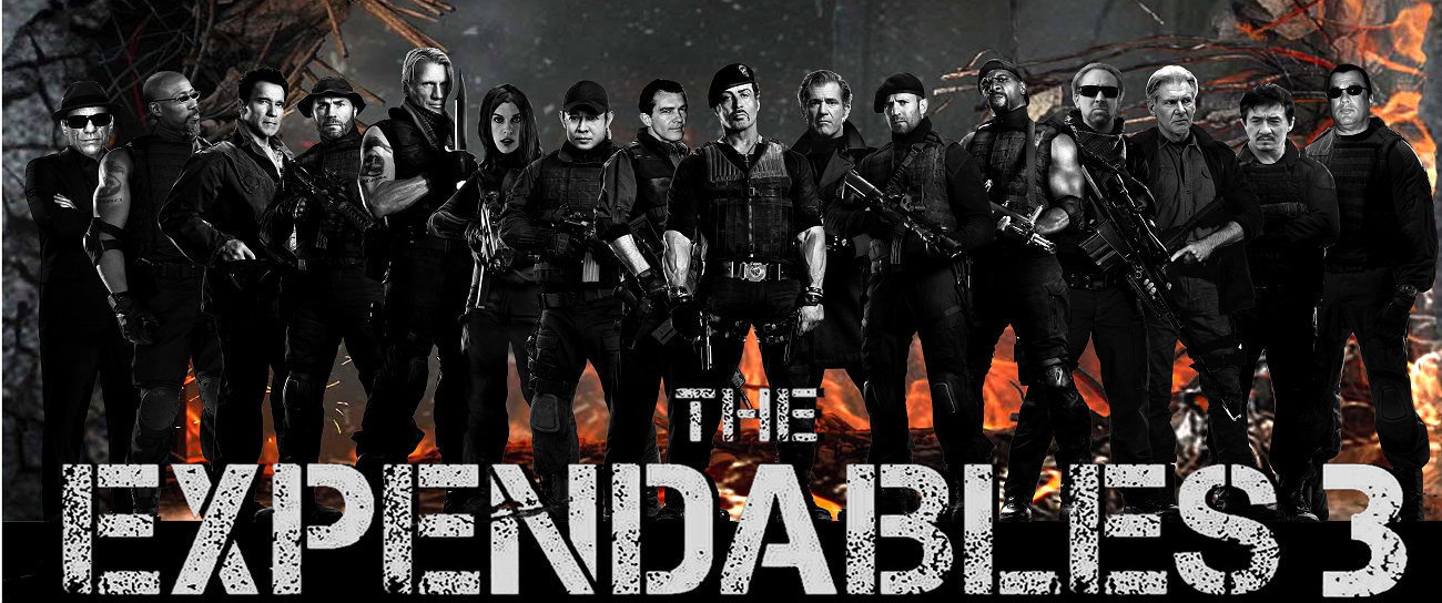 The Illegal Copy-Film and Updated News on Leaking Action in The Expandables 3